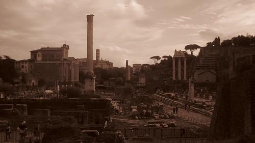 Roman Forum Sepia
