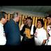 Diómedes Núñez Polanco, Silvio, Juan Astiasarán Ceballo, Manuel Jiménez, Verónica Sención, Hecmilio Galván y Nelly Ciprián /Foto Pedrito Guzmán