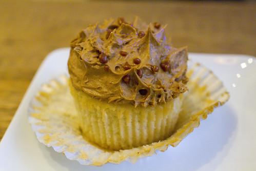 Vanilla Caramel Vietnamese Coffee Cupcake