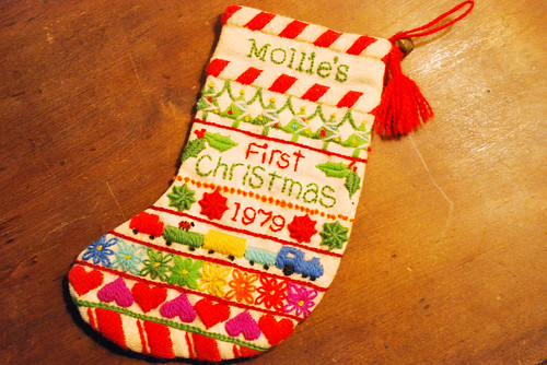 my first stocking