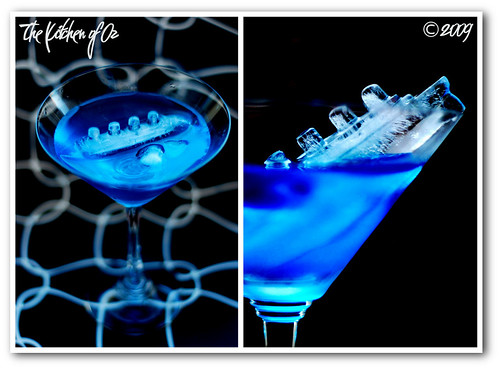Blue Crash Cocktail