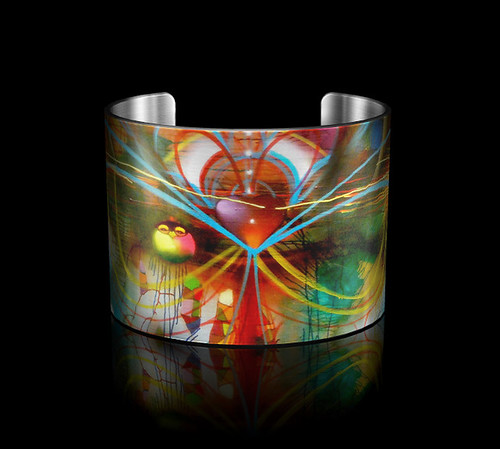 "Tattooed Steel- ChorBoogie ""Romanticism"" Cuff by Tattooed Steel"