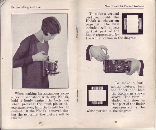 Kodak Pocket Camera I and IA Instruction Manual by LauraMoncur from Flickr