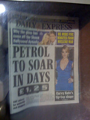 Petrol to soar Daily Express