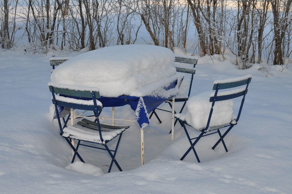 Vinter i sommarland