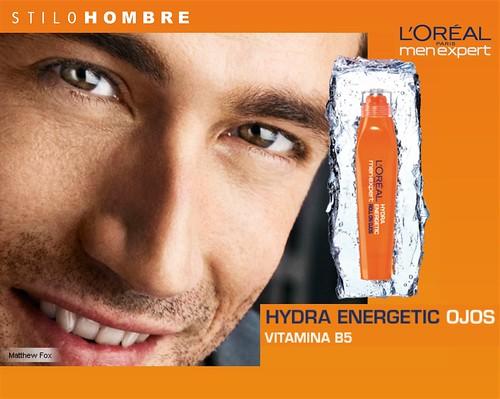 HYDRA ENERGETIC OJOS | L'ORÉAL MEN EXPERT