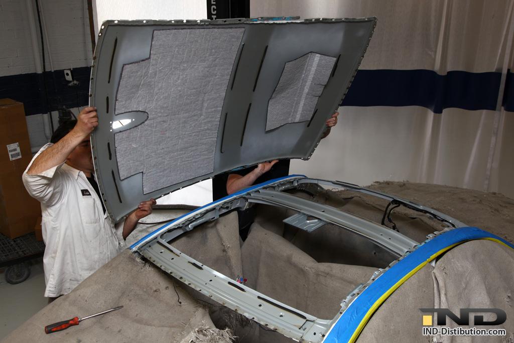 Ind Installs Another E90 M3 Carbon Fiber Roof Bmw M5