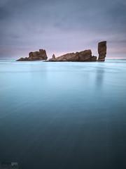 El Playn (diegogm.es) Tags: sea espaa seascape beach marina mar spain sand agua asturias playa olympus arena roca oceano piedra cantabrico bayas pedreo e520 zuiko918mmf456