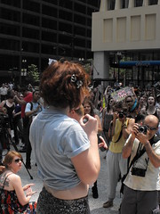 Jamie Lailes (softjunebreeze) Tags: chicago downtown michiganave womensrights equalrights daleyplaza antirape sexpositive womensempowerment slutwalk