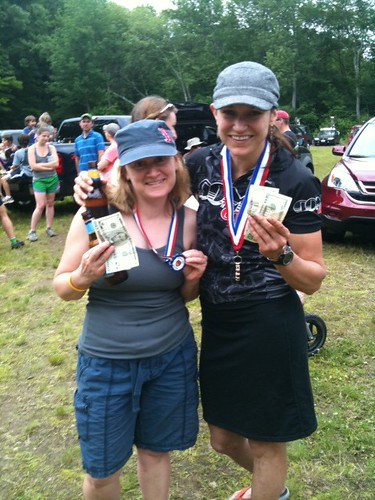 2011 Route66 XC Race: Domnarski - Pam and Cristin
