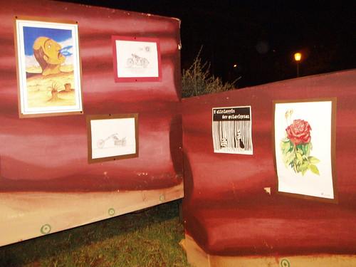 Έκθεση ζωγραφικής κρατουμένων-12ο Αντιρατσιστικό Φεστιβάλ Θεσσαλονίκης