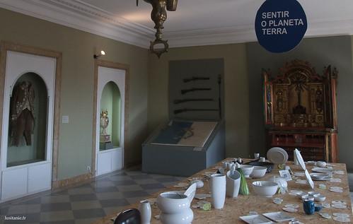 As peças são variadas, mostrando o contexto histórico dos primórdios da Vista Alegre.