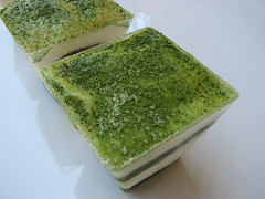 Bicchierino goloso: tiramisù al tè verde Matcha