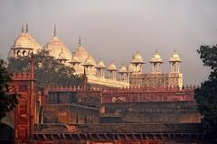 India Agra Red Fort _D7C2099a (youngrobv) Tags: india geotagged asian nikon asia fort indian agra unescoworldheritagesite tc gps fx teleconverter n1 bharat 2x agrafort uttarpradesh tc20eii 70200mmf28gvr  0812 robale hindustan d700   youngrobv solmeta   d7c2099a