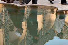 Reflecting in Friday Mosque (damonlynch) Tags: reflection men water pool iran muslim islam religion mosque iranian esfahan mullah isfahan shiite irn fridaymosque holysite