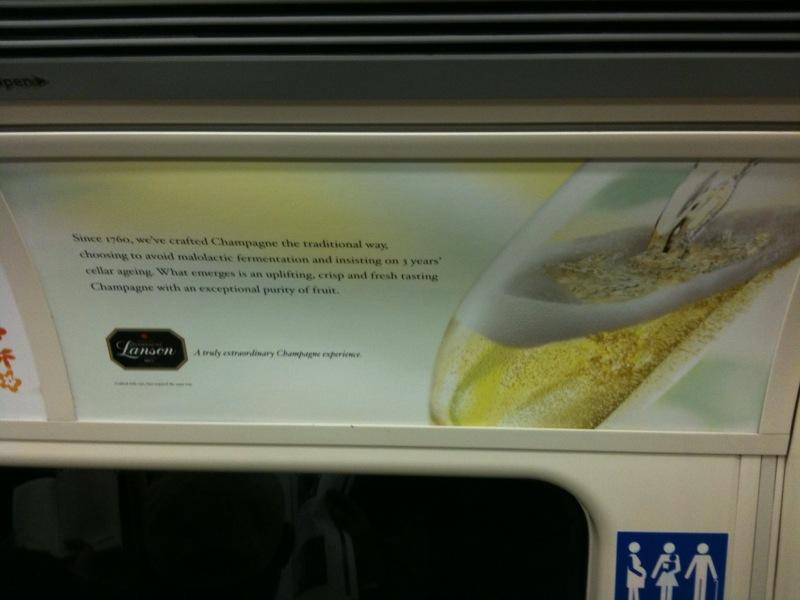 Lanson Advert