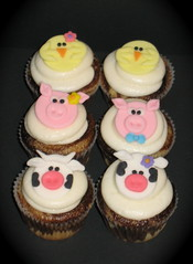 petting zoo/farm animal cupcakes (two parts sugar) Tags: birthday party animals kids barn zoo pig cow cupcakes farm chick cupcake petting missionviejo orangecounty irvine foothillranch ranchosantamargarita