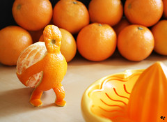 orangeman (grohsARTig // martin-grohs.com) Tags: stilllife food photoshop manipulated design experimental acrylic creative surreal manipulation canvas showcase photosop leinwand krishlikesit grohsartg