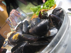 Moule frite on show
