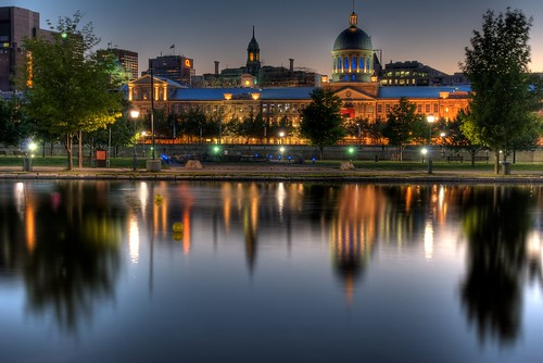 Bonsecours Market in Old Montreal HDR
