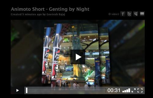 Animoto - Video Created