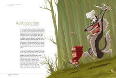 little red riding hood (akrapf) Tags: illustration fairytale book vector brothersgrimm akrapf