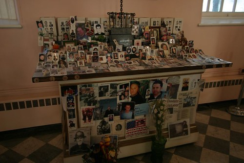 Memories of 9/11 in St. Paul's Chapel.