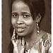 Jammilla Beautiful Somali Lady Portrait Philadelphia Studio Sepia Sept 1998 024