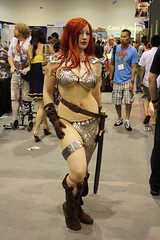 Comic-Con 2009: Costume - an awesome Red Sonja