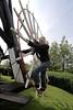 Kruien van de Blauwe Molen (Quistnix!) Tags: windmill moulin molen windmolen vindmølle windmühle molinodeviento moinhodevento moulinàvent mulinoavento väderkvarn kruien ветрянаямельница ανεμόμυλοσ kruiwiel blauwemolen
