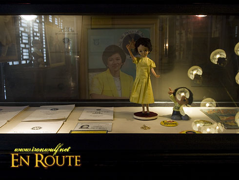 Cory Aquino memorabilias