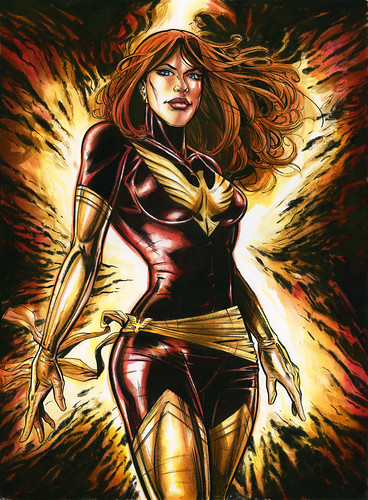 Dark Phoenix color