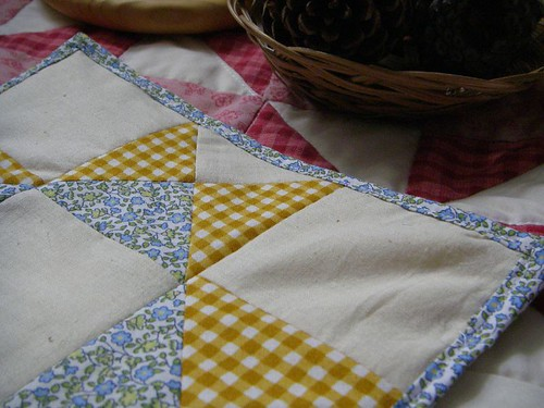 Patchwork potholder
