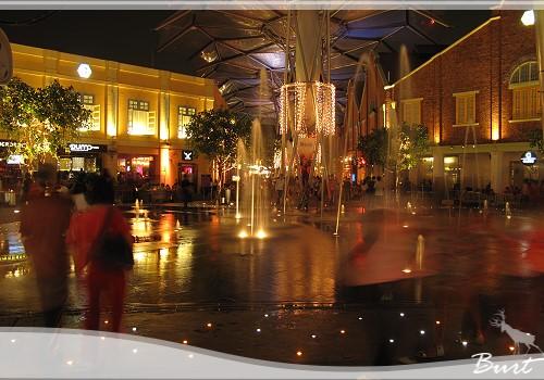 克拉克碼頭夜景1