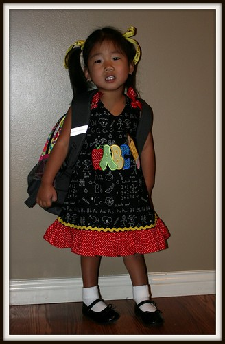 Mylee's first day of school 004