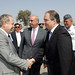 20/07/2009, Επίσκεψη του Πρωθυπουργού στη βάση πυροσβεστικών αεροσκαφών στην 112 Π.Μ. στην Ελευσίνα