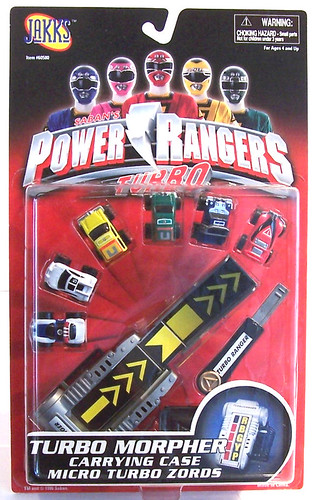 Power rangers turbo morphers
