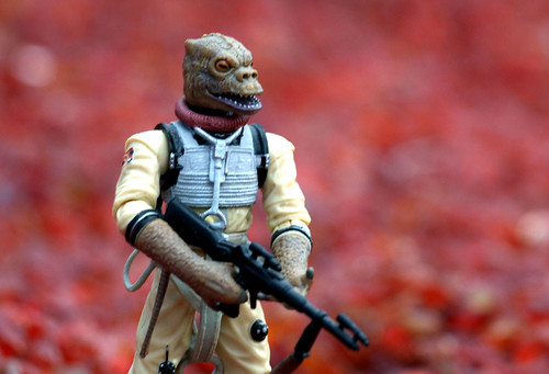 Bossk against the red jewels