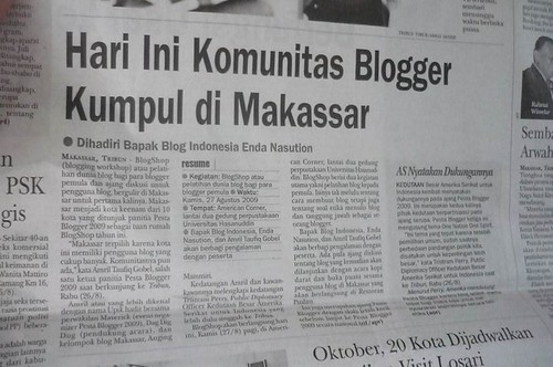 [pb2009] Blogshop Makassar - Tribun TImur
