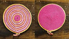 Agarradera Fucsia (à la pipetoi) Tags: crochet regalo presente agarradera