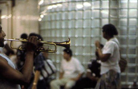 Trumpet in Subway, 1993