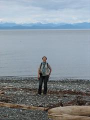 Olivia at Bere Point (Dennisworld) Tags: canada olivia britishcolumbia vancouverisland malcolmisland berepoint berepointregionalpark
