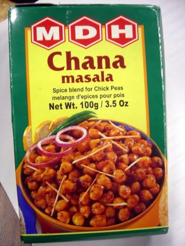 Chana Masala spice
