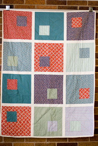 big wonky blocks quilt