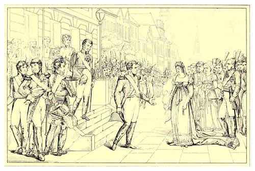 006-Entrevista de Napoleon y la reina de Prusia-The Napoleon gallery 1846