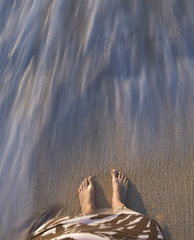 (lindilindi) Tags: ocean shadow sea motion blur feet beach me water ga hawaii sand long exposure slow oahu wave shore northshore foam shutter top20waterpix hawaiiset windsandandwater gettyinvited beachesset gettyvacation2010