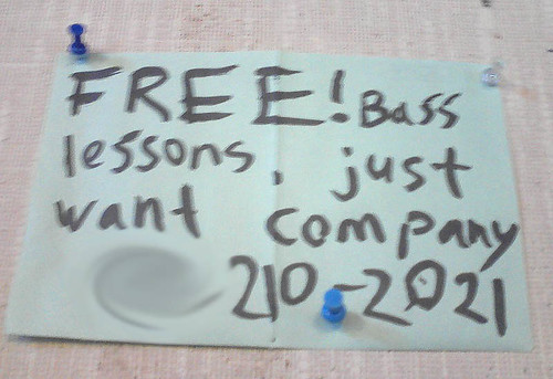 Free bass lessons