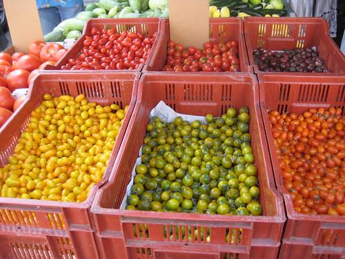 Santa Monica farmer's market tomatoes