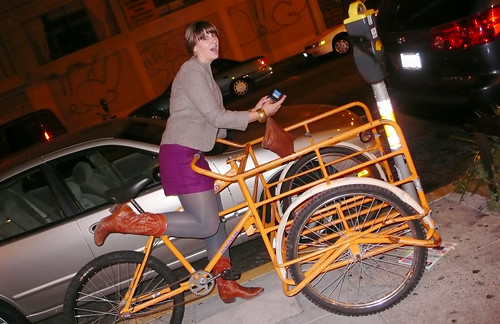 orange cargo bike mission & 18th