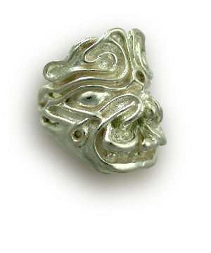 Maya Mask Ring